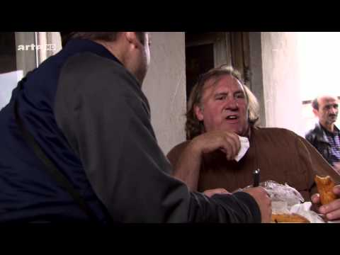 Depardieu sur les traces de Dumas / Depardieu auf den Schaschlik-Spuren von Dumas im Kaukasus