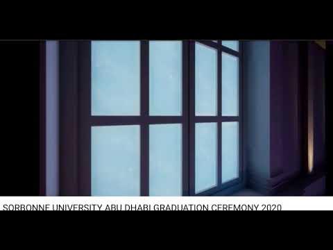Sorbonne University Abu Dhabi Graduation Ceremony 2020 - Hosted by Rima : produced by GEM.inc