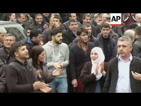 Reporter injured in Turkey clashes