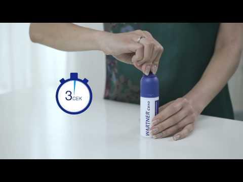 Инструкция по применению  средства WARTNER® Cryo (Вартнер Крио) для удаления подошвенных бородавок
