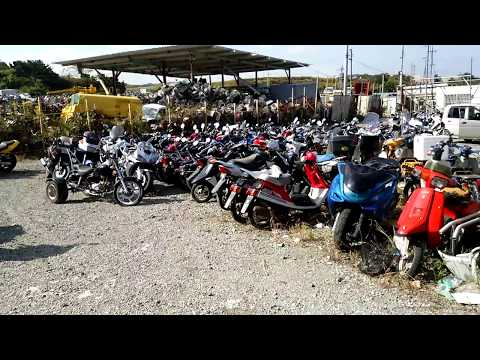 whole sale  japanese mopeds scooters motorcycles разборка bicycle Osaka JAPAN /AZ INTERNATIONAL