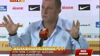 Fatih Terim Gaziantep Saldırısı Sonrası Aslan Yürekli Konuşması