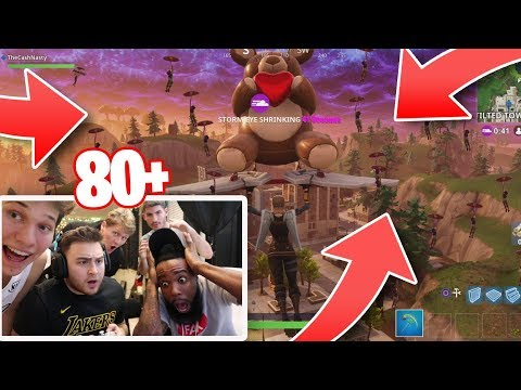 Everyone Land In Tilted! Who's The BEST Fortnite Player 2Hype Challenge! Jesser, Los, Mopi & Jiedel