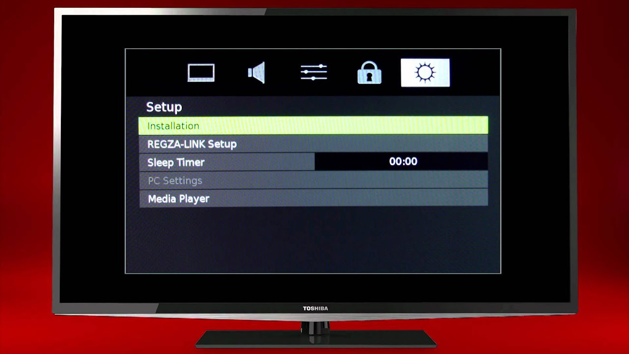 Toshiba How To Perform A System Reset On Your Tv Youtube