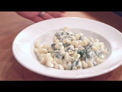Recipe For Pasta With Fresh Spinach Ricotta Cheese, Cream & Spices : Italian Dishes