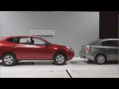 ► Crash Test - example of front - into - rear 10mph low-speed crash
