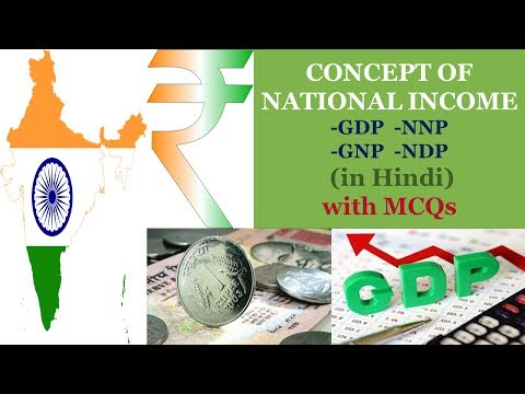what is national income and its concepts| GDP,GNP,NNP,NDP etc.| Economy Lecture PT-01