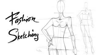 Построение фигуры с опорой на одну ногу для Fashion скетча. Видео урок по построению женской фигуры.(Записаться и узнать подробности по курсу Fashion скетчинг вы можете пройдя по ссылке: http://artedegrass.ru/tickets/fashion_sketches..., 2015-03-30T18:39:27.000Z)