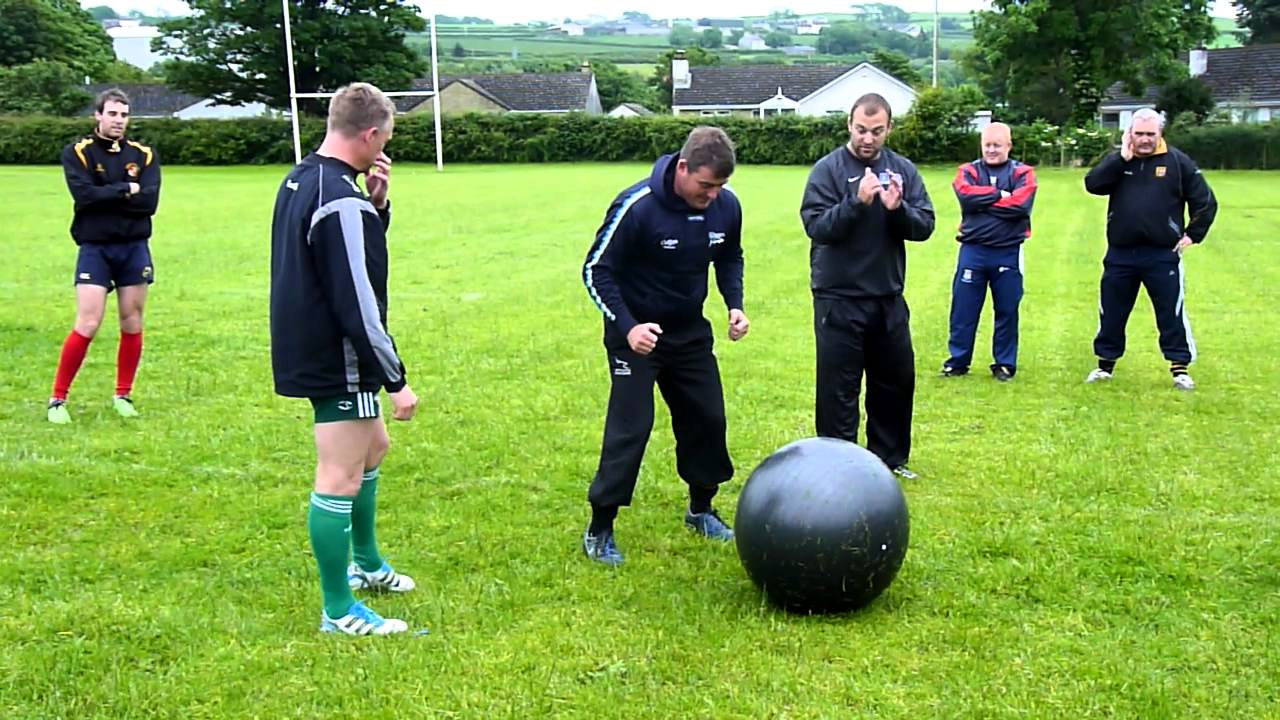 Rugby Scrum Training - Tower of Power to Swiss Ball