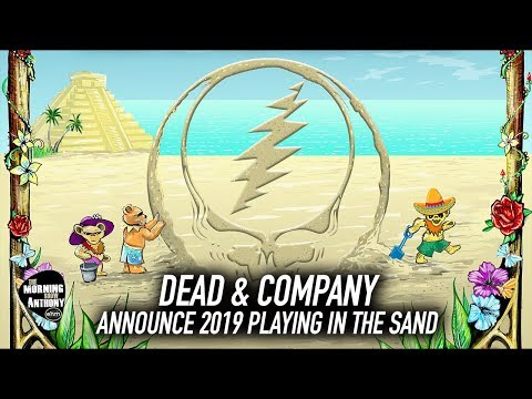 Dead & Company Playing In The Sand