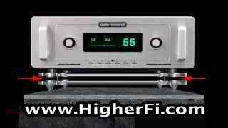 Magnetic Levitation Audio Isolation Shelf by HigherFi