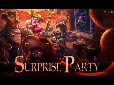 League of Legends: Surprise Party Amumu (Skin Spotlight)