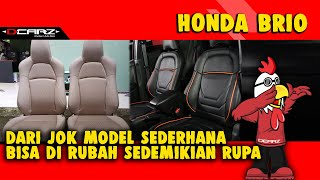 Desain Jok Mobil Honda Brio Jakarta Modifikasi Total
