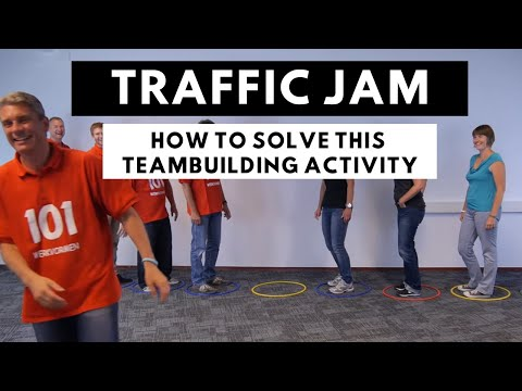 Traffic Jam Game - teambuilding activity