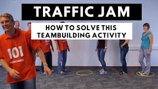 Traffic Jam Game - teambuilding activity