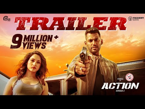Action Trailer I Vishal, Tamannaah I Hiphop Tamizha I Sundar.C I Official