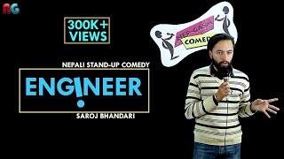 Engineer | Nepali Stand-up Comedy | Saroj Bhandari | Nep-Gasm Comedy