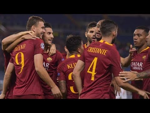 ROMA - VIKTORIA PLZEN 5-0. UEFA CHAMPIONS LEAGUE