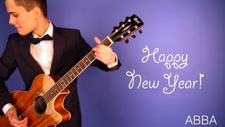 (ABBA) - Happy New Year - Vlad Zaycev - fingerstyle guitar