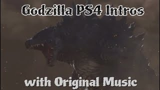 Godzilla PS4: All Monster Intros with Original/Real Music