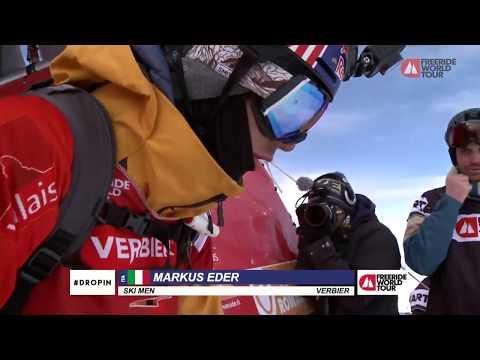 Run Markus Eder - 3rd - FWT18 Xtreme Verbier Switzerland