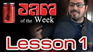 Jam of the Week - Lesson 1: One Chord Rock Jam