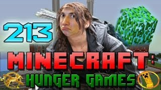 Minecraft: Hunger Games w/Mitch! Game 213 - OUT OF BOUNDS!