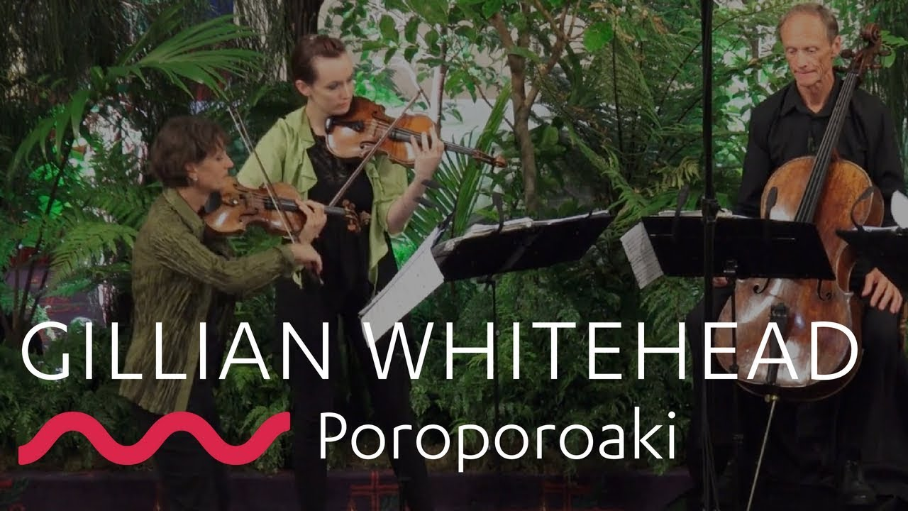 GILLIAN WHITEHEAD: Poroporoaki