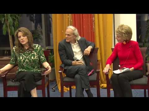 Jeannette Watson with Marianne Williamson and Alan Steinfeld