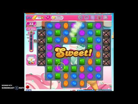 Candy Crush Level 1617 help w/audio tips, hints, tricks