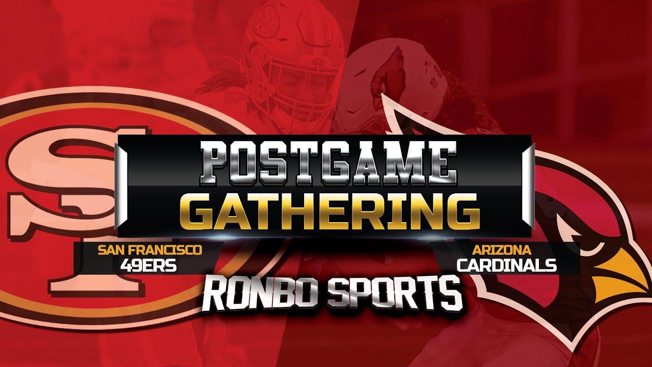 Download San Francisco 49ers vs Arizona Cardinals Week 5 2021 Postgame Fans Gathering