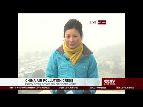 Heavy Smog: Beijing Maintains Orange Alert