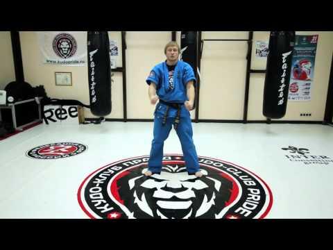 Обучающий ролик для новичков №2 - Прямой удар рукой и основные варианты защиты.