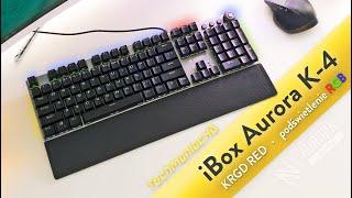 iBOX Aurora K-4 Gamingowa klawiatura mechaniczna z RGB