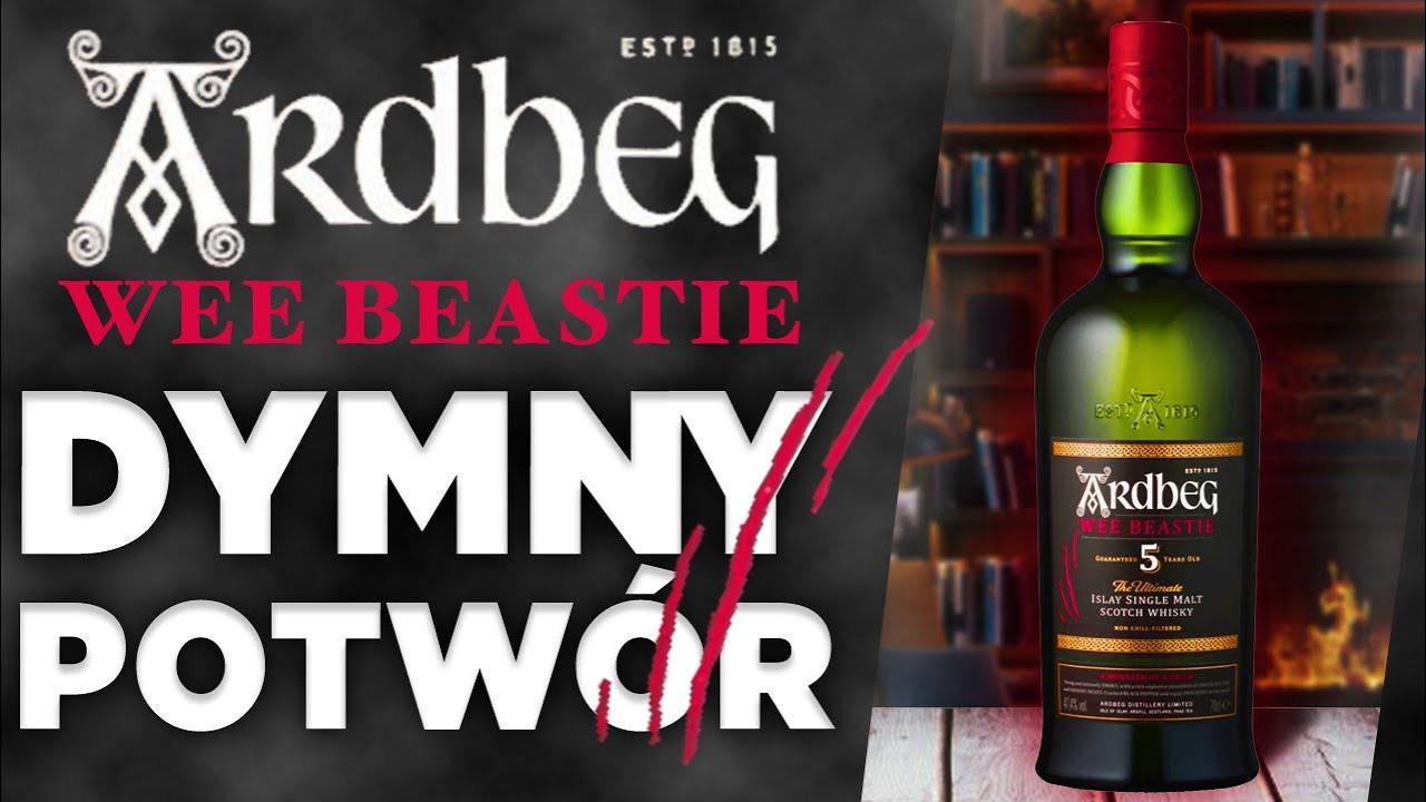 Wee Beastie - jak smakuje NAJMŁODSZY Ardbeg? Kolejne spotkanie ze sławną single malt whisky z Islay!