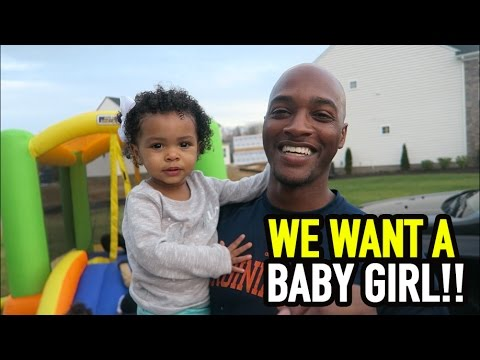 WE WANT A BABY GIRL!! - YouTube