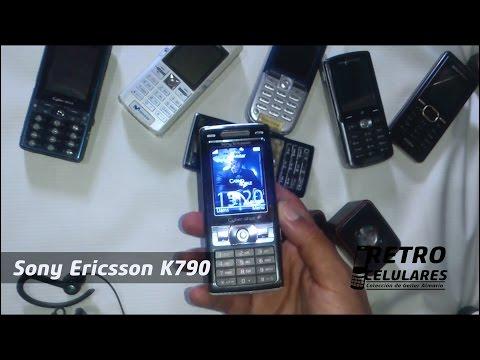 SONY ERICSSON K790 Colección Celulares Clásicos, Antiguos, Viejos Old Cell Phones RETRO CELULARES