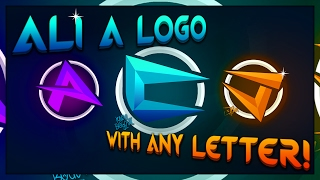 How to make a logo like Ali-A Part 2 | Covering All Letters | Photoshop
