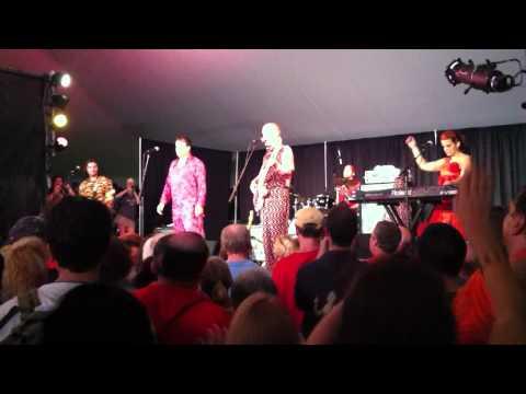 ROCKETMAN  The Red Elvises  Musikfest 2011 Bethlehem Pa.Downtown