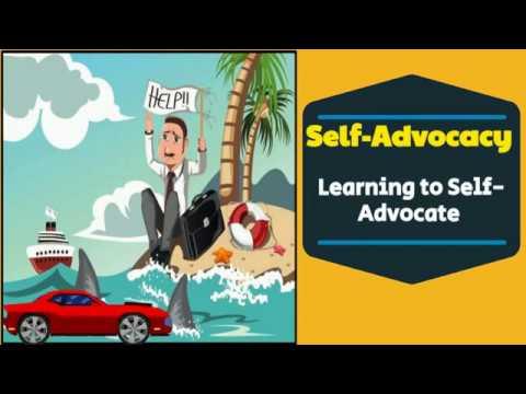 Self Advocacy Skills - Self Advocacy Strategies
