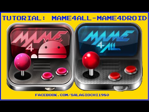 Mame4Droid - Mame4All - Scaricare ed Installare Mame su Android by  salagiochi1980