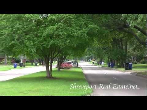 Broadmoor Terrace Subdivision Neighborhood - Shreveport, LA