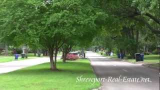 Broadmoor Terrace Subdivision Neighborhood - Shreveport, LA