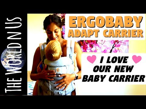 Ergobaby Adapt Carrier | Review | First Impressions And Demo