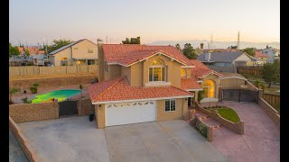 Turn-key Victorville Pool Home With Rv Parking