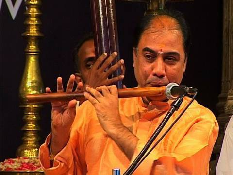 Flute by B.V. Balasai at the Swathi Music Festival, Kerala