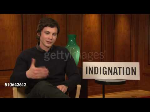 Logan Lerman on sex scenes with Sarah Gadon at 'Indignation' Interviews