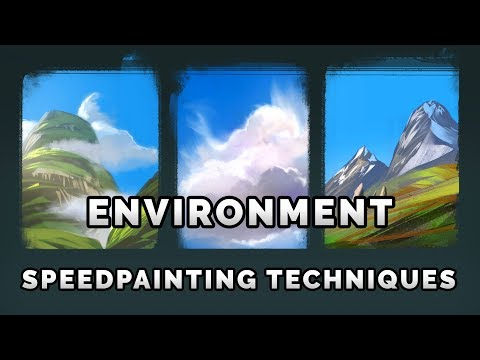 Easy Speedpainting Techniques - Try This Out!