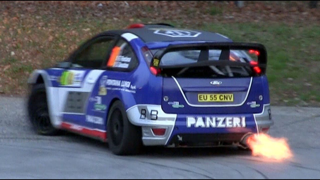 Ford Focus WRC Tribute with Pure Sounds, Flames, Anti-lag & Launch ...