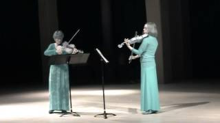 """""""Le duo des beaux ténébreux"""" plays """"Nocturne espagnol"""" by Helmut Lipsky"""